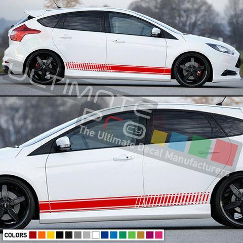 グラフィック デカール ステッカー 車体用 / フォード フォーカス RS 2010 / ストライプグラフィック ボディキット