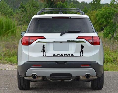 グラフィック デカール ステッカー 車体用 / GMC アカディア / カスタムグラフィック テールゲート・ステッカー
