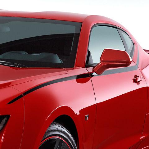 グラフィック デカール ステッカー 車体用 / シボレー カマロ 2019 / ボディ サイド スピアデカール ストライプ