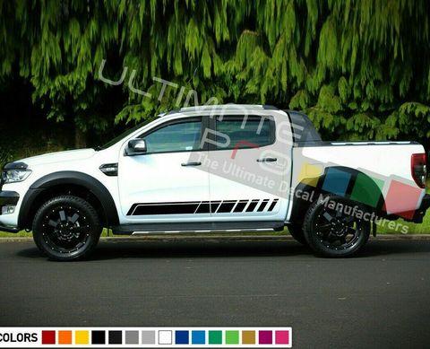 グラフィック デカール ステッカー 車体用 / フォード レンジャー 2012 / サイドドア ストライプステッカー