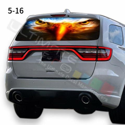 グラフィック デカール ステッカー 車体用 / ダッジ デュランゴ 2020 / リアウィンドウ イーグルスステッカー