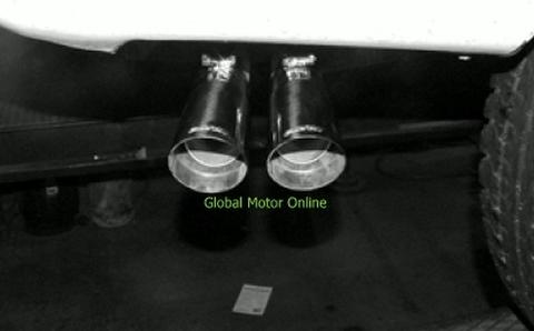 サバーバン 96-99 ギブソン Dual Sport サイド マフラー インレットデュアル  5100