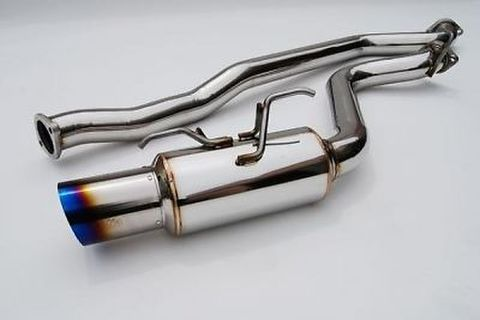 Subaru WRX STI 5ドア 2008-2011 Invidia Titanium Tip CAT-BACK EXHAUST(Racing) チタンエンド N1 レーシング マフラー
