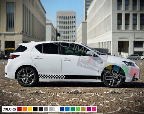 グラフィック デカール ステッカー 車体用 / レクサス CT / キセノンライト ストライプステッカー