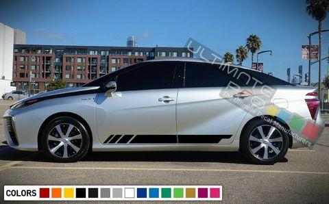 グラフィック デカール ステッカー 車体用 / トヨタ ミライ 2017 2018 / ストライプステッカーキット