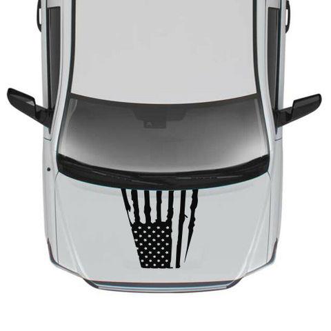 グラフィック デカール ステッカー 車体用 / トヨタ タンドラ 2016 2017 2018 2019 / フードデカール