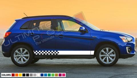 グラフィック デカール ステッカー 車体用 / 三菱 アウトランダー ASX / ストライプステッカーセット