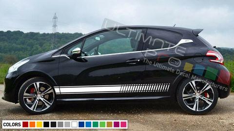 グラフィック デカール ステッカー 車体用 / プジョー 208 / ストライプキット