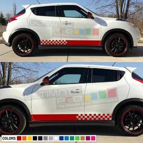 グラフィック デカール ステッカー 車体用 / 日産 ジューク 2011 2012 2013 2014 2015 2016 / ストライプステッカー