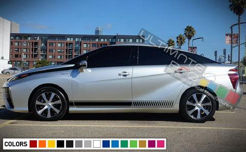 グラフィック デカール ステッカー 車体用 / トヨタ ミライ / ストライプステッカーキット