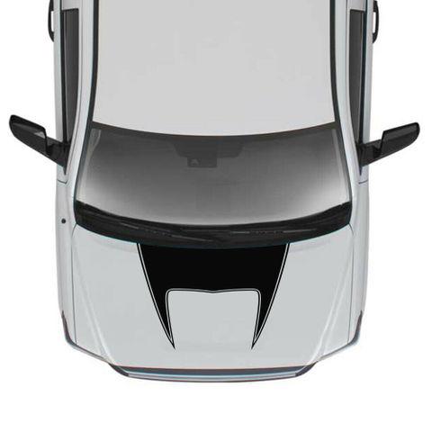 グラフィック デカール ステッカー 車体用 / トヨタ タンドラ 2014-2019 / 4x4 フードステッカー