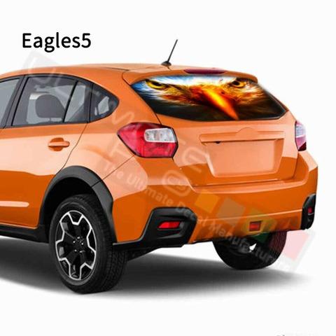 グラフィック デカール ステッカー 車体用 / スバル XV 2017 / リアウィンドウ イーグルスデザイン