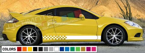 グラフィック デカール ステッカー 車体用 / 三菱 エクリプス 1991 2011 / ストライプステッカー