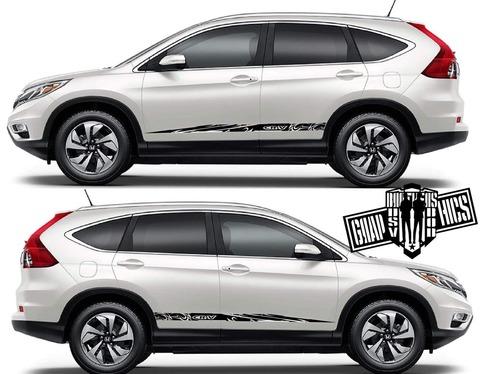 グラフィック デカール ステッカー 車体用 / ホンダ CR-V / サイドドア ストライプ カスタム・ステッカー