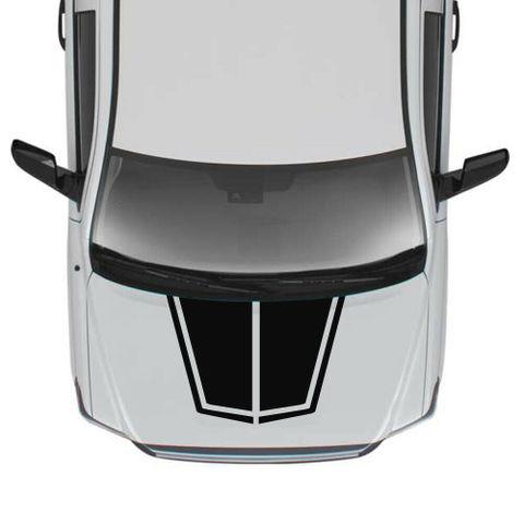 グラフィック デカール ステッカー 車体用 / トヨタ タンドラ 2016 2017 2018 / フードデカール
