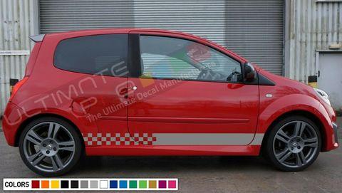 グラフィック デカール ステッカー 車体用 / ルノー トゥインゴ / キセノン ストライプキット