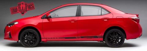 グラフィック デカール ステッカー 車体用 / トヨタ カローラ 2000-2021 / ストライプ・ステッカー