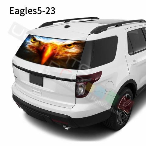 グラフィック デカール ステッカー 車体用 / フォード エクスプローラー / リアウィンドウ イーグルスデザイン