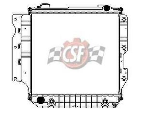 ジープ ラングラー 05-06 CSF 3426 Radiator 社外純正仕様ラジェター