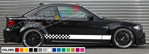 グラフィック デカール ステッカー 車体用 / BMW M1 E82 / ストライプステッカー