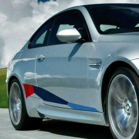 グラフィック デカール ステッカー 車体用 / BMW 3シリーズ E92 2004-2013 / クーペM パフォーマンス サイドストライプグラフィックス