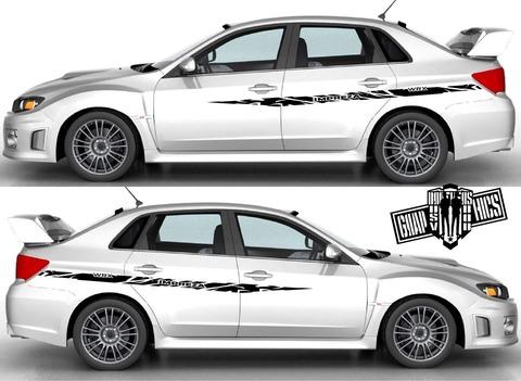 グラフィック デカール ステッカー 車体用 / スバル インプレッサ / ストライプ・ステッカー