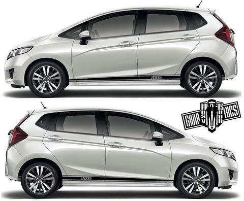 グラフィック デカール ステッカー 車体用 / ホンダ フィット / 2X ストライプ・ステッカー