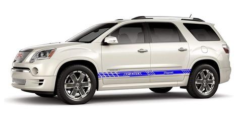 グラフィック デカール ステッカー 車体用 / GMC アカディア / ストライプ グラフィック・ステッカー