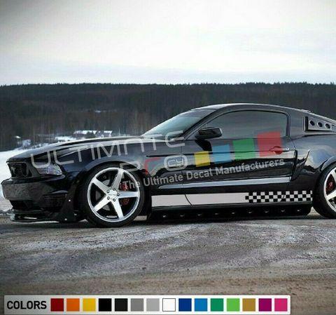 グラフィック デカール ステッカー 車体用 / フォード マスタング 2004-2013 / サイドドア ストライプキット