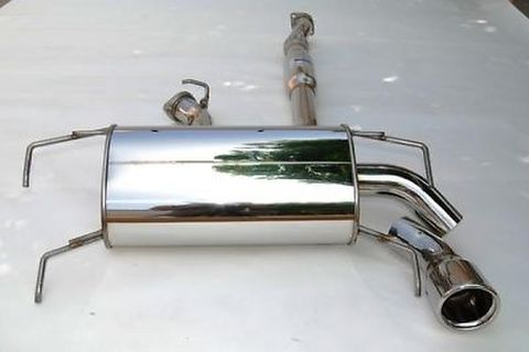 Subaru スバル WRX STI 5ドア 2008-2014 Invidia Rolled Stainless Steel Tip CAT-BACK EXHAUST Q300 ステンレスエンドマフラー