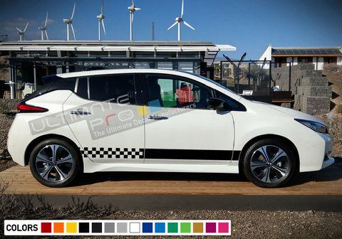 グラフィック デカール ステッカー 車体用 / 日産 リーフ / サイドドア ストライプキット