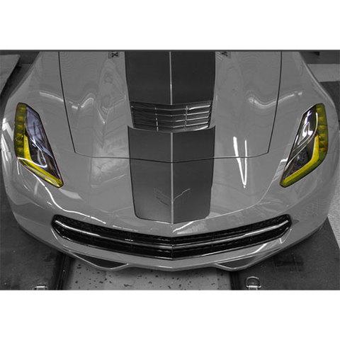 シボレー コルベット C7  / Granatelli アンバーヘッドライトデカールキット