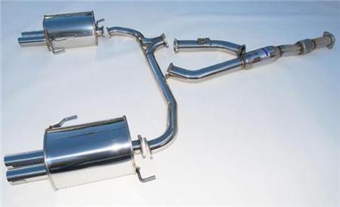Subaru Legacy スバル レガシー 2005-2009 Invidia Stainless Steel Tip CAT-BACK EXHAUST Q300 ステンレスエンドマフラー