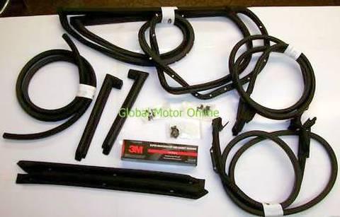 73-77 コルベットC3 クーペ ウェザーストリップセット   Corvette WEATHER STRIP 73 77