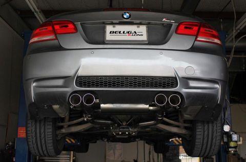 BMW E92 E90 M3 08-13  Beluga Racing ベベルエッジ パフォーマンス マフラー