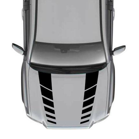 グラフィック デカール ステッカー 車体用 / トヨタ タコマ / 4x4 フードデカール ストライプステッカーキット