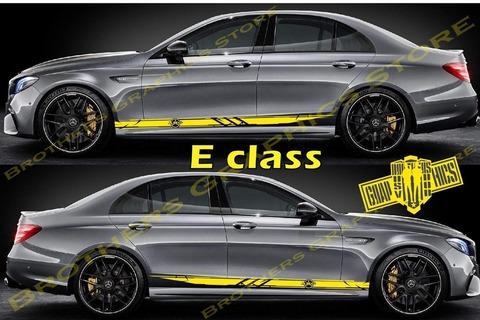 グラフィック デカール ステッカー 車体用 / メルセデスベンツ Eクラス / ストライプ グラフィック・ステッカー