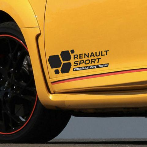 グラフィック デカール ステッカー 車体用 / ルノー スポール 2016 / F1フォーミュラワンチーム オートコランテ クリオメガネ
