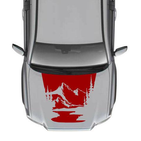 グラフィック デカール ステッカー 車体用 / トヨタ タコマ 2016 2017 / モダン フードステッカーキット