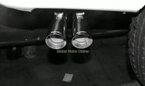 タホ ユーコン 96-99 ギブソン Dual Sport サイド マフラー インレットデュアル  5401