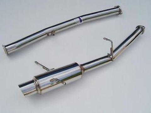 Subaru スバル インプレッサ WRX/STI 2002-2007 Invidia Stainless Steel Tip CAT-BACK EXHAUST(Racing) ステンレスエンド N1 レーシング マフラー