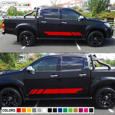 グラフィック デカール ステッカー 車体用 / トヨタ ハイラックス TRD / オフロード ストライプキット