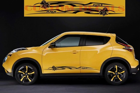 グラフィック デカール ステッカー 車体用 / 日産 ジューク / インディアン・ステッカー