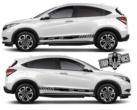 グラフィック デカール ステッカー 車体用 / ホンダ HR-V / カスタム ストライプ・ステッカー