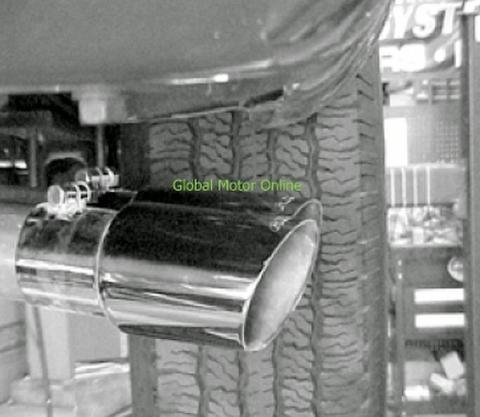 タホ ユーコン 96-99 ギブソン Dual Sport サイド マフラー インレットシングル  5400