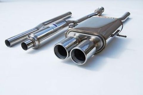 BMW Mini Cooper S ミニ クーパー S 2007- Invidia Stainless Steel Tip CAT-BACK EXHAUST Q300 マフラー ステンレスエンド
