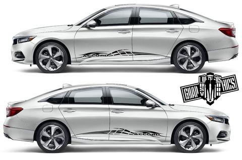 グラフィック デカール ステッカー 車体用 / ホンダ アコード / ストライプ・ステッカー