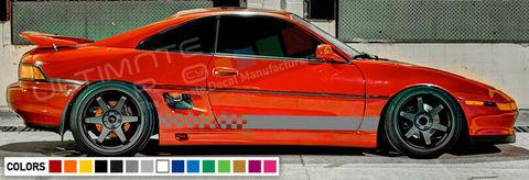 グラフィック デカール ステッカー 車体用 / トヨタ MR2 1.6 1984 1986 1989 / ステッカー