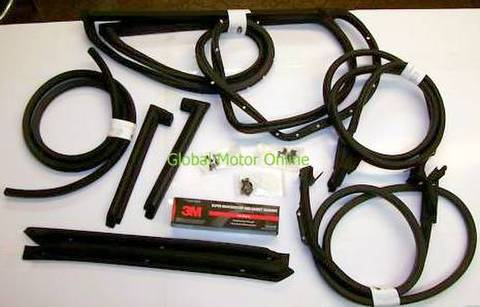 70-72 コルベットC3 クーペ ウェザーストリップセット  Corvette WEATHER STRIP 69 72