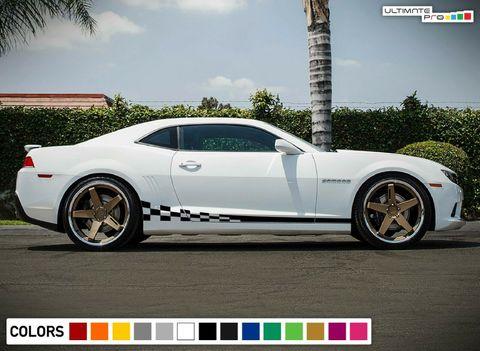 グラフィック デカール ステッカー 車体用 / シボレー カマロ 2011 2015 2019 / ストライプボディキット